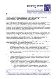 """Report on the Conference """"Formal and Non-formal Music Education ..."""