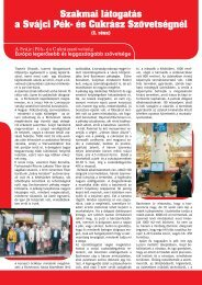 a Svájci Pék- és Cukrász Szövetségnél - Confiserie Bachmann