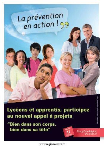 La prévention en action ! - Région Centre