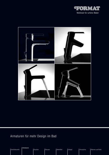Armaturen für mehr Design im Bad - Format