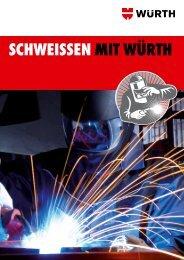 Schweißen-Broschüre - Würth