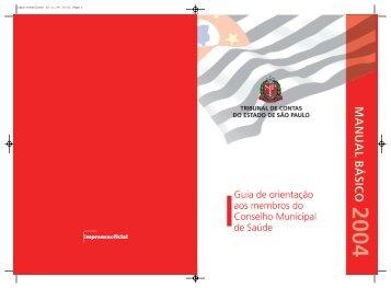 Guia de Orientação aos Membros do Conselho Municipal de Saúde