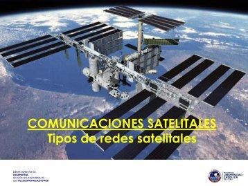 Clasificación de redes satelitales por órbita