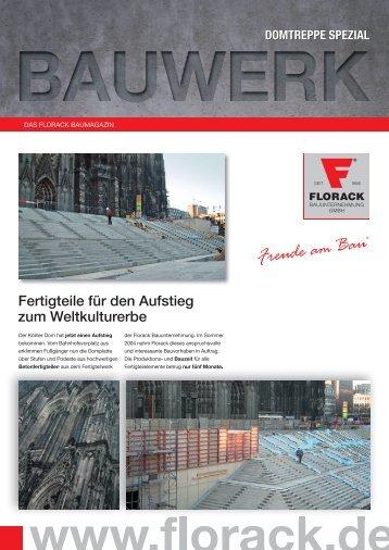 Bauwerk Spezial Domtreppen - Florack Bauunternehmung GmbH