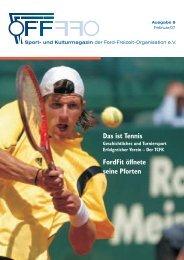 Das ist Tennis - Ford-Freizeit-Organisation eV