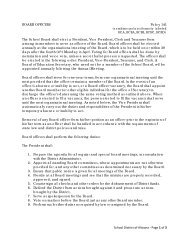 School District of Altoona - Page 1 of 3 BOARD OFFICERS Policy ...