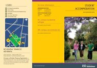 StUdent accOmmOdatiOn - University of Southern Queensland