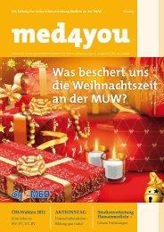 Was beschert uns die Weihnachtszeit an der ... - ÖH Medizin Wien