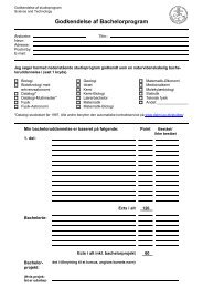 BLANKET * Godkendelse af bachelorprogram - For Studerende ...