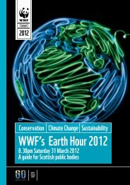 WWF's Earth Hour 2012 8.30pm Saturday 31 March - WWF UK
