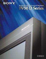 BVM-D Series - BroadcastStore.com