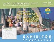 Exhibitor Prospectus - AARC.org