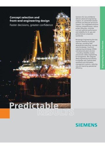 Predictable RESULTS - Siemens