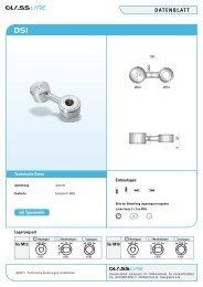 Datenblatt SpiDer - Glassline GmbH