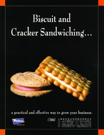 PETERS Biscuit and Cracker Sandwich - greatkhan