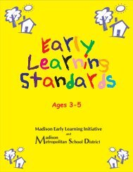 Download Madison Early Learning Standards - Malcolm Shabazz ...
