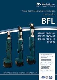 Für die industrielle Fertigung entwickelt BFL 1 2 3 4 5 6 - HS-Technik