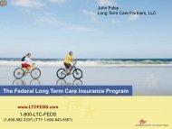 The Federal Long Term Care Insurance Program