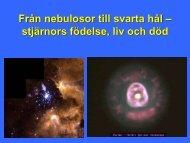 5. 2011-09-28 Stjärnornas livscykel (IL)