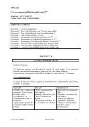 annexes, 21 pages - Académie de Nancy-Metz