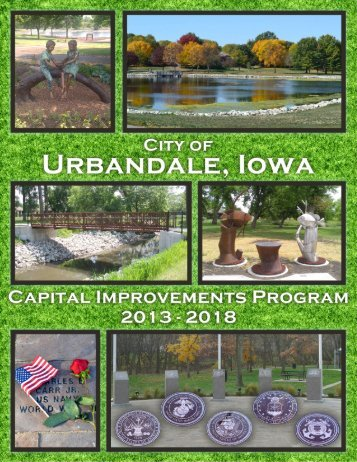 FY2013-2018 CIP Document - City of Urbandale