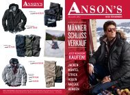 Dezember 2011 - Anson's