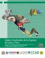Listados Actualizados de las Especies de Fauna y Flora - caftadr ...