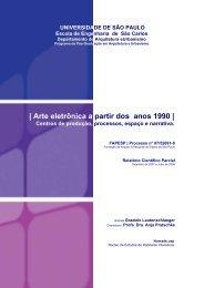 Relatório Científico Parcial - Nomads.usp