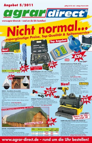Top Angebot! 5,95 - Agrar-Direct