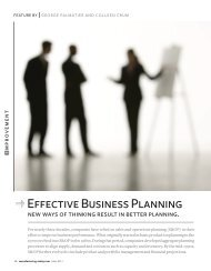 Effective Business Planning - Oliver Wight Americas