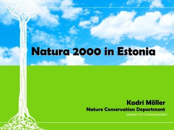 Natura 2000 in Estonia
