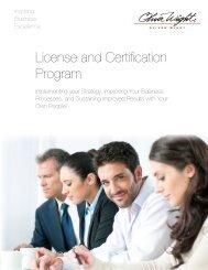 Licensed and Certification Program - Oliver Wight Americas