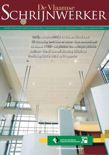 Vlaamse Schrijnwerker_mei_2008.pdf - Magazines Construction