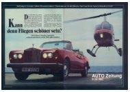 AUTO ZEITUNG vom 1. Februar 1982 - UrsusMajor