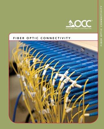 FIBER OPTIC CONNECTIVITY - Accu-Tech