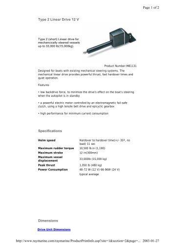 Raymarine Typ 2.pdf - Regina - Sail Training