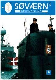 Søværnsorientering nr. 4 / 1997 - Marinehistorisk Selskab og ...