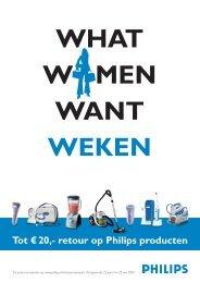 Tot € 20,- retour op Philips producten - Wehkamp.nl
