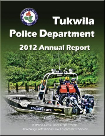 2012 Annual Report - the City of Tukwila