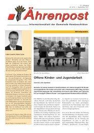 Offene Kinder- und Jugendarbeit