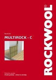 Rockwool - Multirock C - Ravago