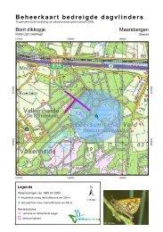 Beheerkaart bedreigde dagvlinders - Vlindernet