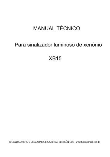 MANUAL(53,1Kb) - Alarmes Tucano