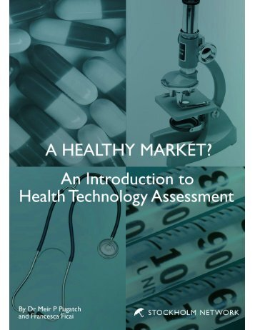 An Introduction to Health Technology Assessment - The Stockholm ...