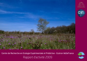 Rapport d'activité 2009 - Jean-Francois Le Galliard