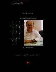 CV - Sezione di Matematica