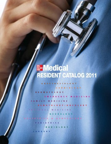 RESIDENT CATALOG 2011 - McGraw-Hill Books
