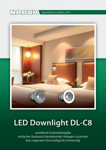 LED Downlight DL-C8 - Elec.ru