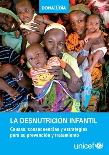 LA DESNUTRICIÓN INFANTIL