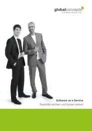 Software as a Service Flexibilität erhöhen und ... - Global Concepts